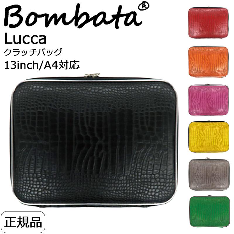 カジュアルからビジネスシーンまで使える時計 財布 バッグ 筆記具を多数ご用意しております 大規模セール プレゼント選びに是非ご覧ください クリスマス 誕生日 記念日 バレンタイン ホワイトデー Bombata ボンバータ pcケース Lucca おすすめ 13インチ ノートパソコンケース ブリーフケース 正規品 A4対応 クラッチバッグ レディース メンズ ブランド クロコ型押し