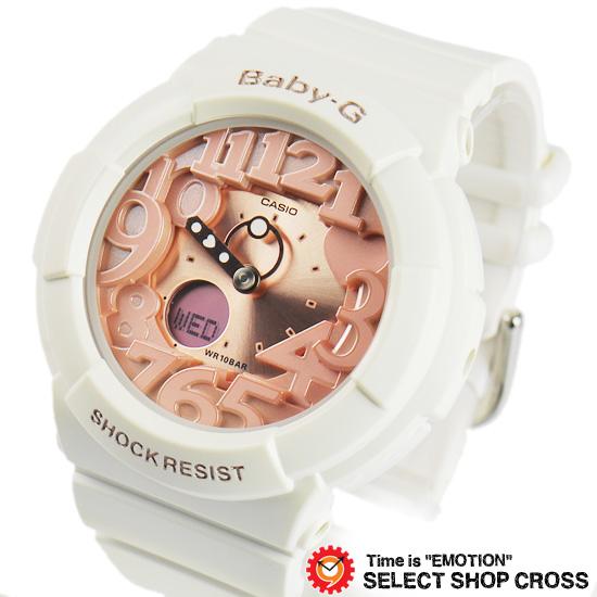 【名入れ対応】 【3年保証】 カシオ 腕時計 CASIO Baby-G レディース GA-131-7B2 ベビーG ネオンダイアルシリーズ CASIO 海外モデル 時計 レディース キッズ 子供 腕時計 ブランド BGA-131-7B2DR ホワイト ピンク カシオ 腕時計 【あす楽】