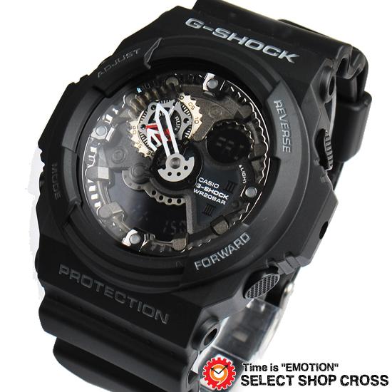 【名入れ対応】 【3年保証】 Gショック 防水 ジーショック G-SHOCK カシオ CASIO メンズ 腕時計 アナログ アナデジ GA-300-1ADR ブラック 黒 海外モデル [国内 GA-300-1AJF と同型]