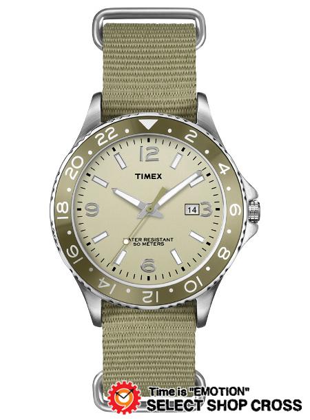 TIMEX タイメックス 腕時計 Kaleido Scope Nato カレイドスコープ ナトー オリーブナイロン T2P035 サンドベージュ・カラー 正規品 【着後レビューを書いて1000円OFFクーポンGET】