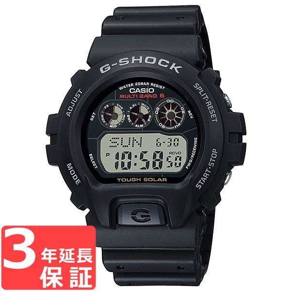 【名入れ対応】 【3年保証】 カシオ 腕時計 CASIO G-SHOCK 電波 ソーラー GW-6900-1 Gショック ジーショック 時計 メンズ 電波時計 タフソーラー 海外モデル GW-6900-1CR ブラック 黒 カシオ 腕時計 【スポーツ アウトドア ウォッチ 防水】
