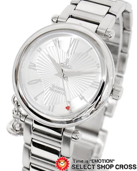 ヴィヴィアン・ウエストウッド Vivienne Westwood レディース アナログ 腕時計 ブランド オーブチャーム vv006sl シルバー 【あす楽】