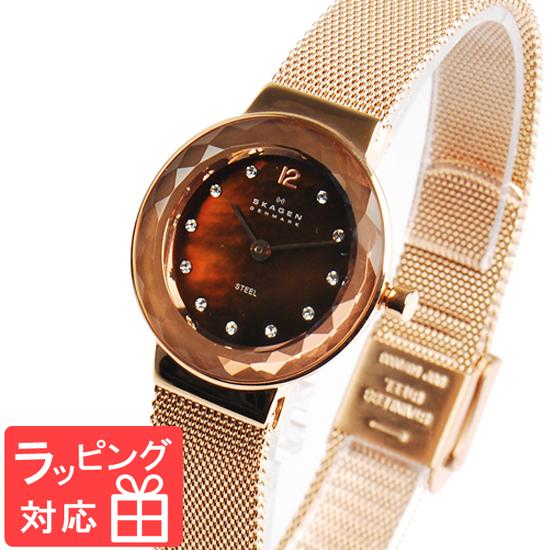 【無料ギフトバッグ付き】 【3年保証】 スカーゲン メンズ レディース ユニセックス 腕時計 SKAGEN 時計 スカーゲン 時計 SKAGEN 腕時計 人気 ブランド クォーツ ステンレス アナログ 456SRR1 ピンクゴールド スカーゲン レディース