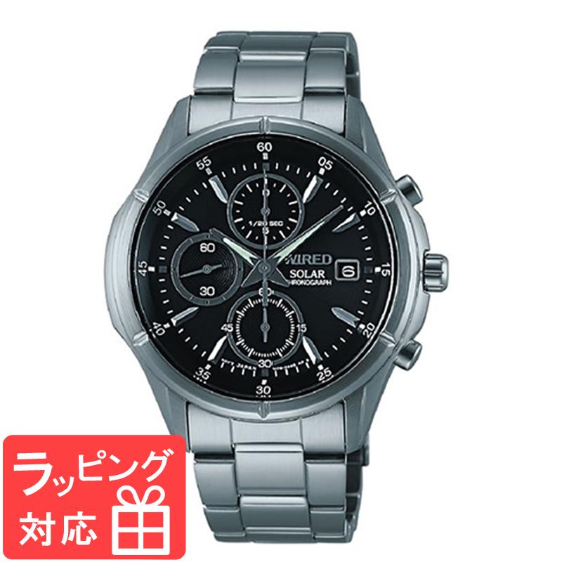 【3年保証】 SEIKO セイコー WIRED ワイアード ソーラー メンズ 腕時計 AGAD057 福士蒼汰 正規品