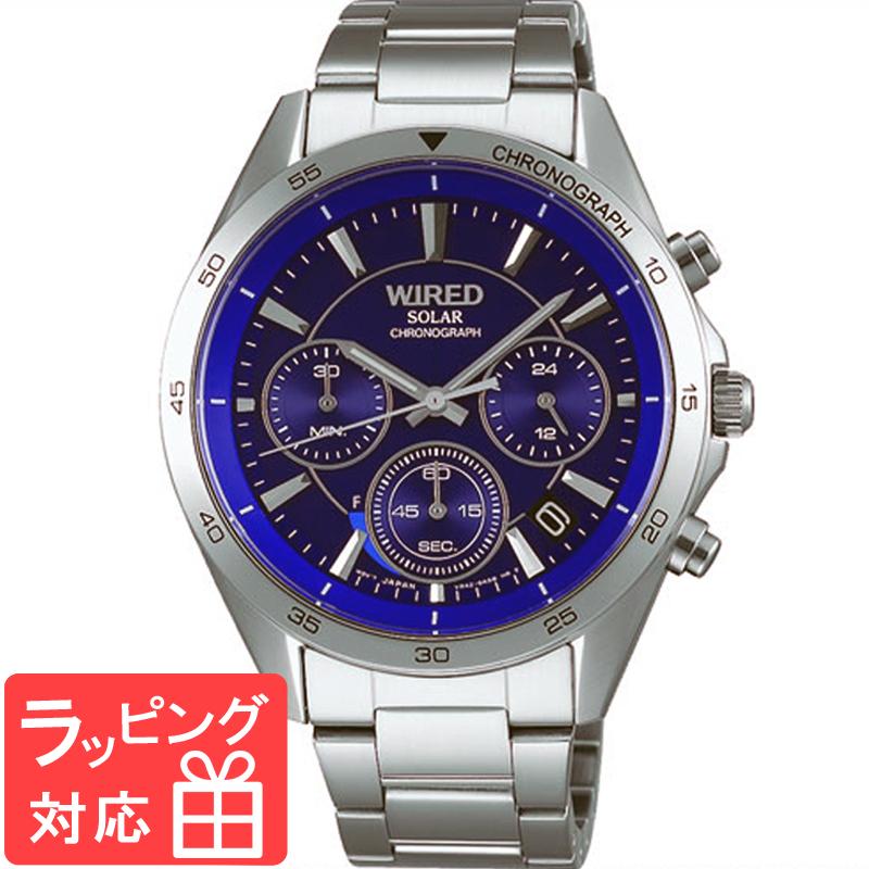 【無料ギフトバッグ付き】 【3年保証】 SEIKO セイコー ALBA アルバ WIRED ワイアード ソーラー メンズ 腕時計 AGAD088 正規品