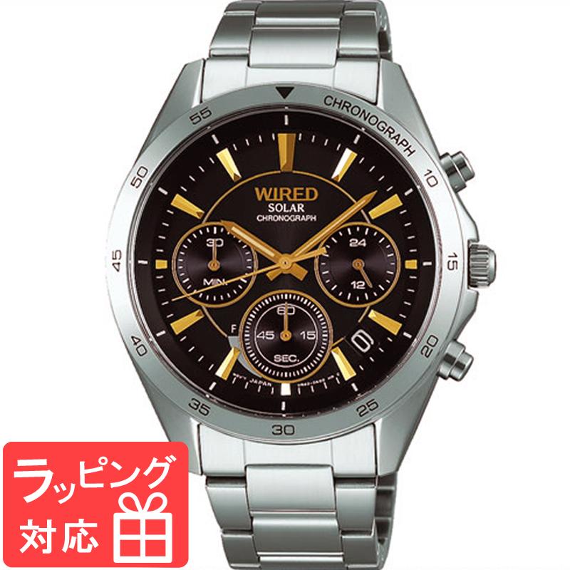 【無料ギフトバッグ付き】 【3年保証】 SEIKO セイコー ALBA アルバ WIRED ワイアード ソーラー メンズ 腕時計 AGAD089 正規品