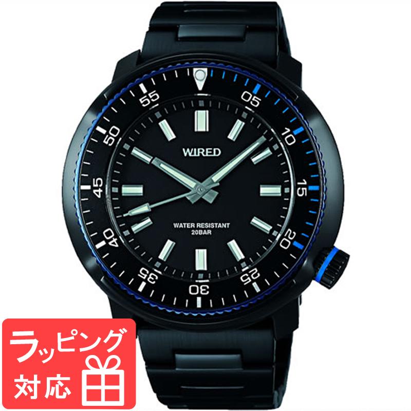 【無料ギフトバッグ付き】 【3年保証】 SEIKO セイコー WIRED ワイアード クオーツ メンズ 腕時計 AGAJ406 正規品