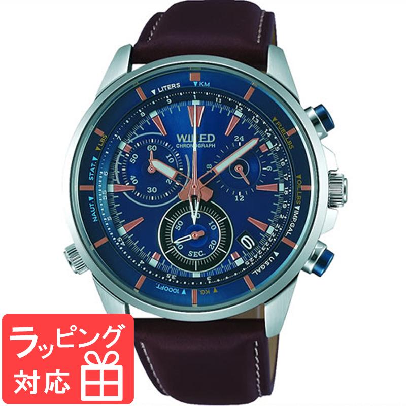 【無料ギフトバッグ付き】 【3年保証】 SEIKO セイコー WIRED ワイアード クオーツ メンズ 腕時計 AGAW447 正規品