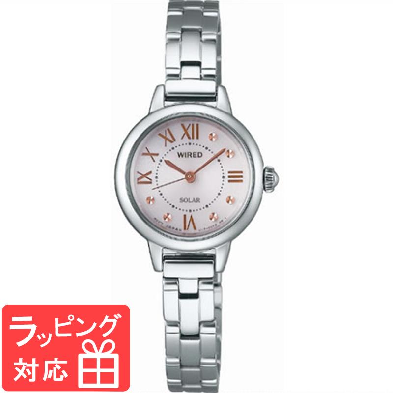 【3年保証】 SEIKO セイコー WIRED ワイアード ソーラー レディース 腕時計 ブランド AGED094 正規品
