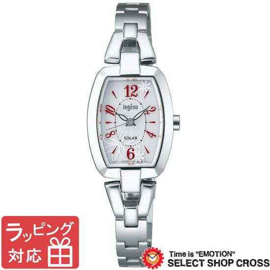 【3年保証】 セイコー SEIKO ALBA ingenu アルバ アンジェーヌ ソーラー レディース 腕時計 ブランド AHJD059 シルバー 正規品