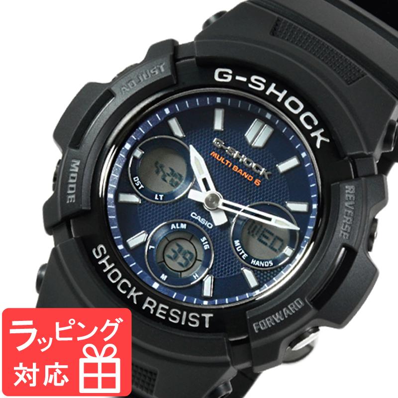 【名入れ対応】 カシオ 腕時計 CASIO G-SHOCK CASIO Gショック 防水 ジーショック メンズ AWG-M100SB-2A 時計 電波時計 電波 ソーラー AWG-M100SB-2ADR ブラック 黒 海外モデル [国内 AWG-M100SB-2AJF と同型] カシオ 腕時計 【あす楽】
