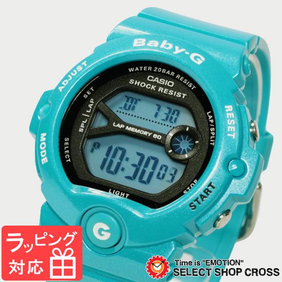 【名入れ対応】 【3年保証】 CASIO カシオ Baby-G ベビーG レディース キッズ 子供 腕時計 ブランド デジタル BG-6903-2DR サックスブルー 海外モデル