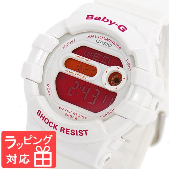 【名入れ対応】 【3年保証】 Baby-G ベビーG カシオ CASIO レディース キッズ 子供 腕時計 ブランド デジタル 海外モデル BGD-140-7BDR ホワイト 白/ピンク
