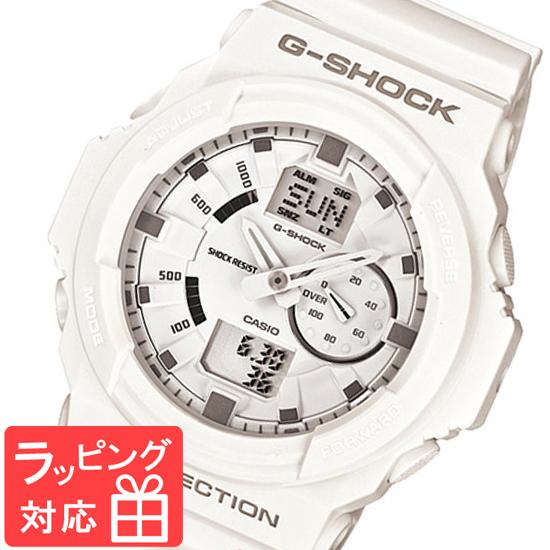【名入れ対応】 【3年保証】 Gショック 防水 ジーショック G-SHOCK カシオ CASIO メンズ 腕時計 アナデジ アナログ GA-150-7AJF ホワイト 白 国内モデル