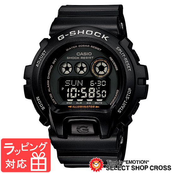 【名入れ対応】 【3年保証】 Gショック 防水 ジーショック カシオ G-SHOCK CASIO メンズ 腕時計 デジタル GD-X6900-1JF ブラック 黒 国内モデル