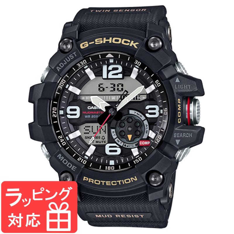 【名入れ対応】 【3年保証】 カシオ CASIO Gショック 防水 ジーショック G-SHOCK MUDMASTER(マッドマスター)GG-1000-1AJF 腕時計 ブラック 黒 メンズ 国内モデル