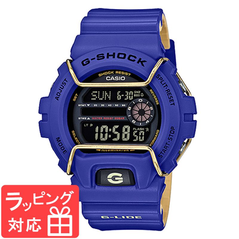 【名入れ対応】 【3年保証】 CASIO カシオ G-SHOCK Gショック 防水 ジーショック G-LIDE Gライド 腕時計 デジタル メンズ ブルー ベージュ GLS-6900-2DR 海外モデル