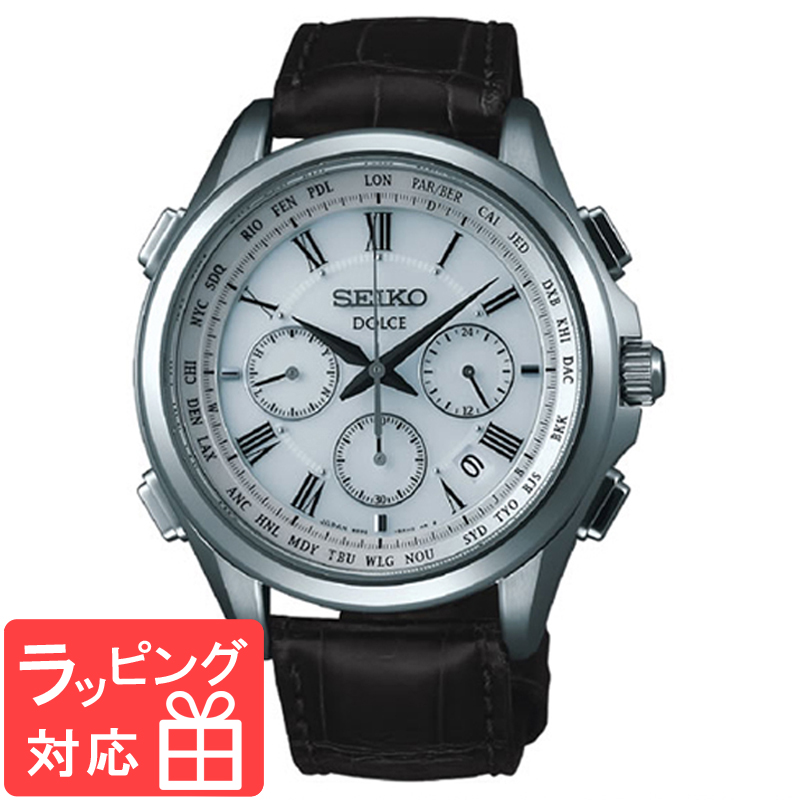 【3年保証】 SEIKO セイコー DOLCE ドルチェ ソーラー電波修正 メンズ 腕時計 電波時計 SADA039 正規品