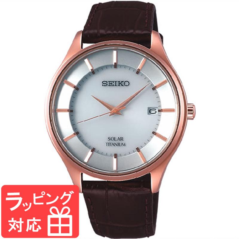【無料ギフトバッグ付き】 【3年保証】 SEIKO セイコー SEIKO SELECTION ソーラー 腕時計 SBPX106 正規品