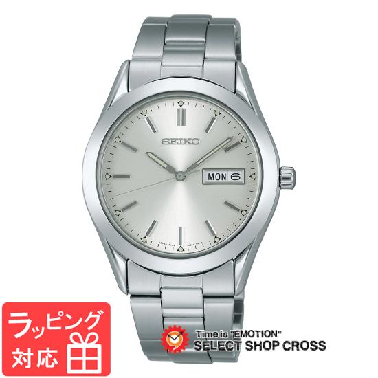 【3年保証】 セイコー SEIKO スピリット SPIRIT ラインアップ LINE UP クオーツ メンズ 腕時計 scdc083 シルバー×シルバー 正規品