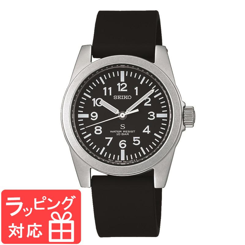【3年保証】 セイコー SEIKO SUSデザイン復刻モデル nano universe Special Edition SEIKO SELECTION メンズ 腕時計 正規品 ブラック SCXP155