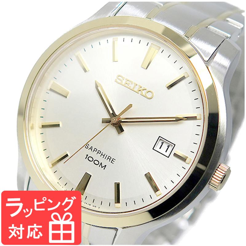 【3年保証】 セイコー SEIKO クオーツ メンズ 腕時計 SGEH42P1 シルバー