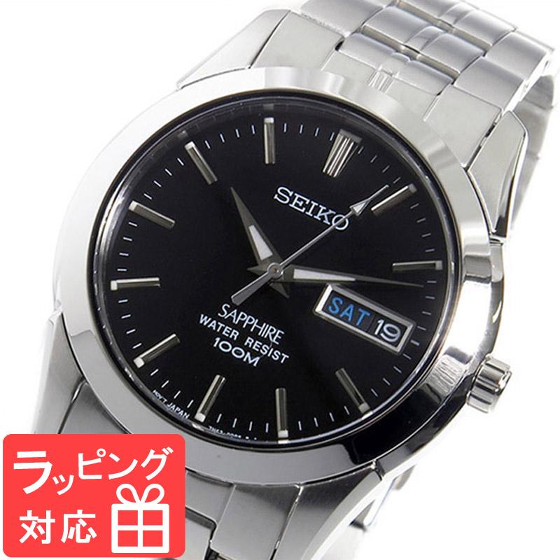 【3年保証】 セイコー SEIKO 時計 クオーツ メンズ 腕時計 おしゃれ SGG715P1 ブラック 海外モデル 【3年保証】 セイコー SEIKO 腕時計