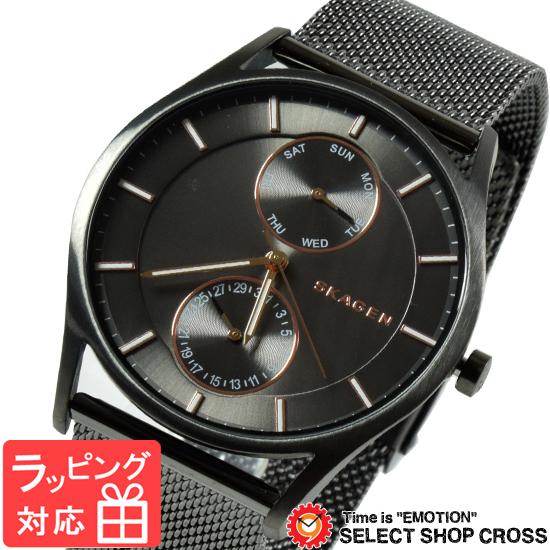 【3年保証】 スカーゲン メンズ レディース ユニセックス 腕時計 SKAGEN 時計 スカーゲン 時計 SKAGEN 腕時計 人気 Holst ホルスト マルチファンクション クオーツ SKW6180 グレー スカーゲン レディース