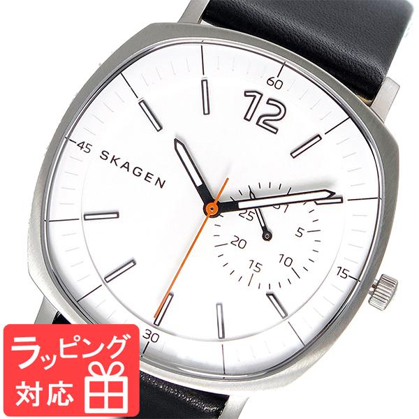 【3年保証】 スカーゲン メンズ レディース ユニセックス 腕時計 SKAGEN 時計 スカーゲン 時計 SKAGEN 腕時計 人気 ラングステッド RUNGSTED クオーツ SKW6256 ホワイト スカーゲン レディース