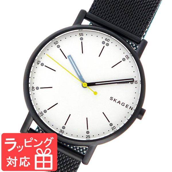 【3年保証】 スカーゲン メンズ レディース ユニセックス 腕時計 SKAGEN 時計 スカーゲン 時計 SKAGEN 腕時計 人気 シグネチャー SIGNATUR クオーツ SKW6376 パールホワイト スカーゲン レディース