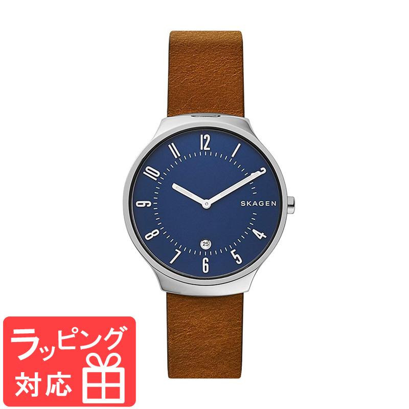 【3年保証】 スカーゲン メンズ レディース ユニセックス 腕時計 SKAGEN 時計 スカーゲン 時計 SKAGEN 腕時計 SKW6457 ブラウン シルバー ネイビーブルー スカーゲン レディース