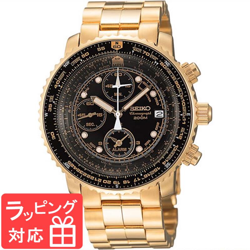 【無料ギフトバッグ付き】 【3年保証】 SEIKO セイコー CHRONOGRAPH クロノグラフ クオーツ メンズ 腕時計 SNA414PC 正規品