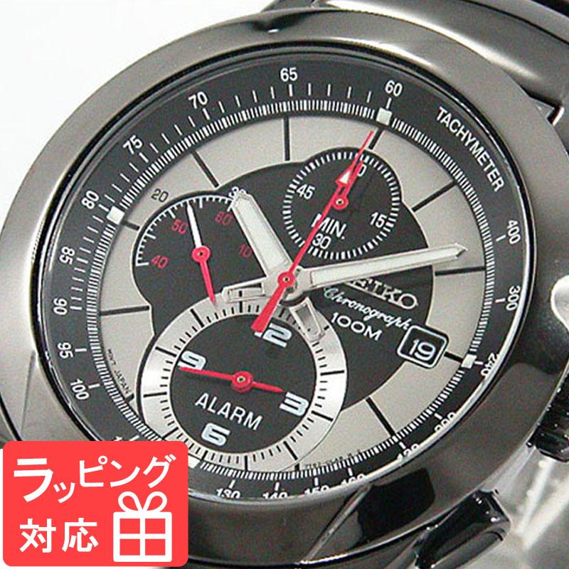 【無料ギフトバッグ付き】 【3年保証】 セイコー SEIKO 時計 クロノグラフ アラーム メンズ 腕時計 おしゃれ SNAB35P1 海外モデル セイコー SEIKO 腕時計