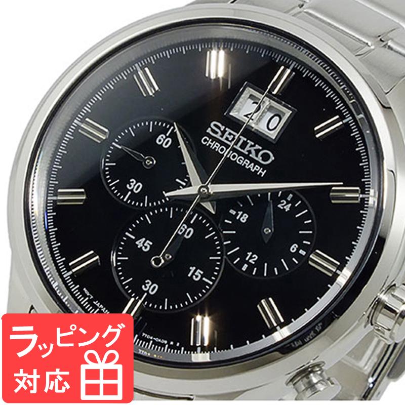 【3年保証】 セイコー SEIKO クロノグラフ メンズ 腕時計 SPC083P1 海外モデル