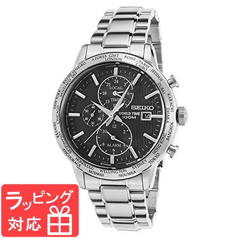 【無料ギフトバッグ付き】 【3年保証】 SEIKO セイコー CHRONOGRAPH クロノグラフ アナログクオーツ メンズ 腕時計 SPL049P1 (SPL049PC) 海外モデル 正規品