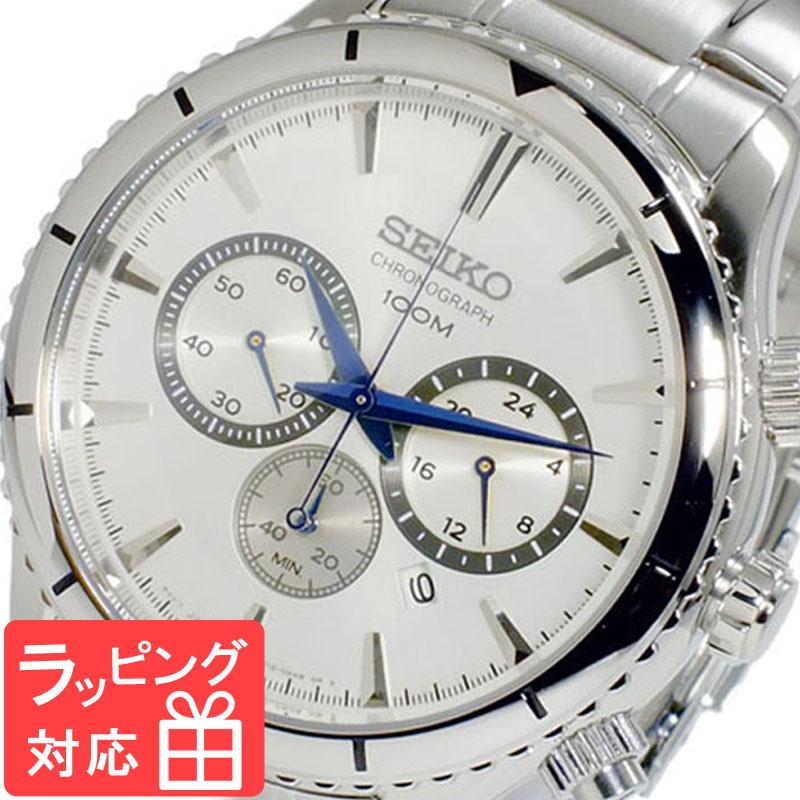 【3年保証】 セイコー SEIKO 時計 クオーツ メンズ クロノグラフ 腕時計 おしゃれ SRW033P1 海外モデル 【3年保証】 セイコー SEIKO 腕時計