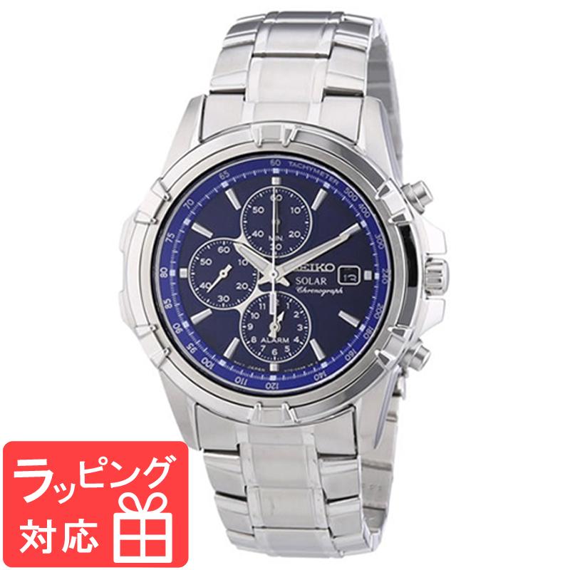 【無料ギフトバッグ付き】 【3年保証】 SEIKO セイコー CHRONOGRAPH クロノグラフ ソーラー メンズ 腕時計 SSC141P1 (SSC141PC) 海外モデル 正規品