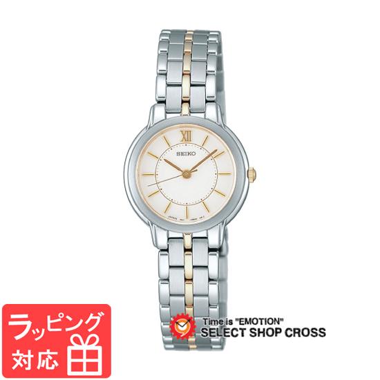 【3年保証】 セイコー SEIKO スピリット SPIRIT ラインアップ LINE UP クオーツ レディース 腕時計 ブランド ssda002 シルバー×オフホワイト 白 正規品