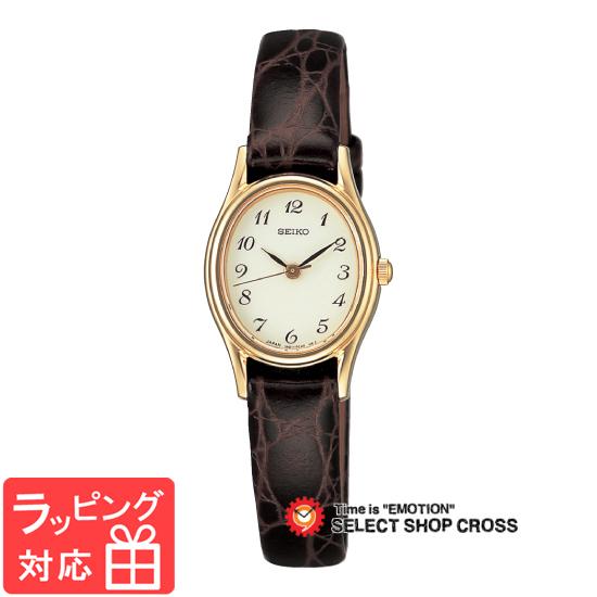 【3年保証】 セイコー SEIKO スピリット SPIRIT ラインアップ LINE UP クオーツ レディース 腕時計 ブランド ssda008 ブラウン×ホワイト 白 正規品