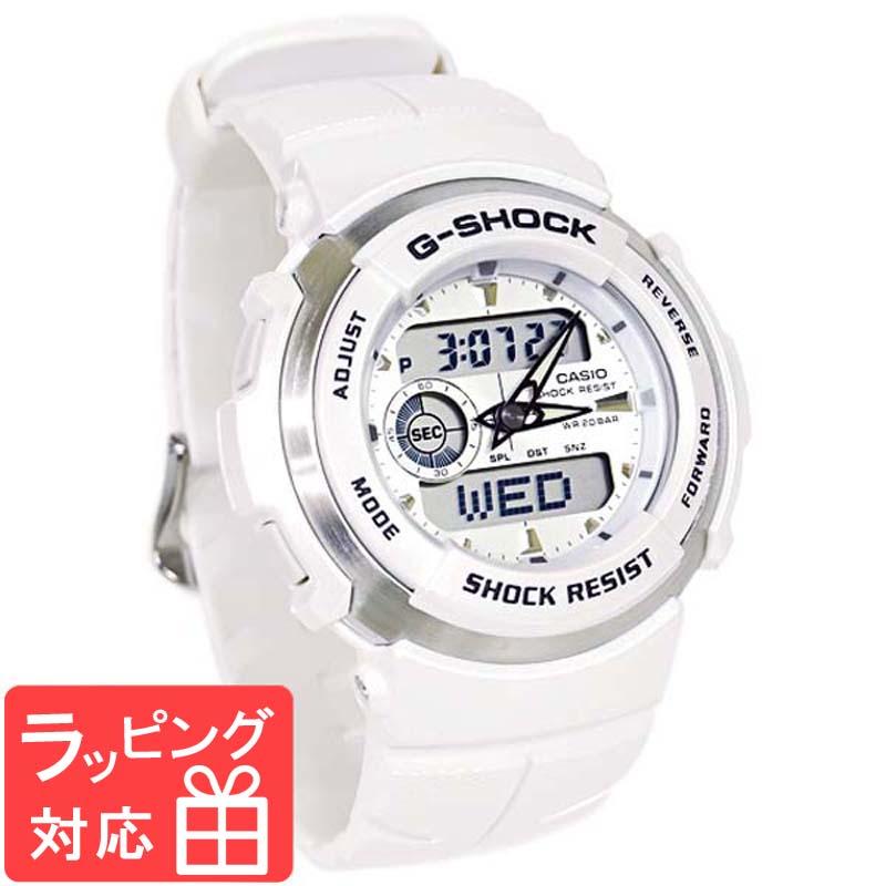 【名入れ・ラッピング対応可】 【3年保証】 カシオ CASIO G-SHOCK Gショック 防水 ジーショック 腕時計 メンズ G-SPIKE G-300LV-7AJF ホワイト 白