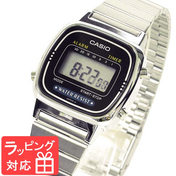 Casio Watch Casio Ladys Kids Child Men Watch Brand Digital Watch Brand Foreign Countries Model La670wa 1u シルバーチプカシチープカシオカシオ Watch