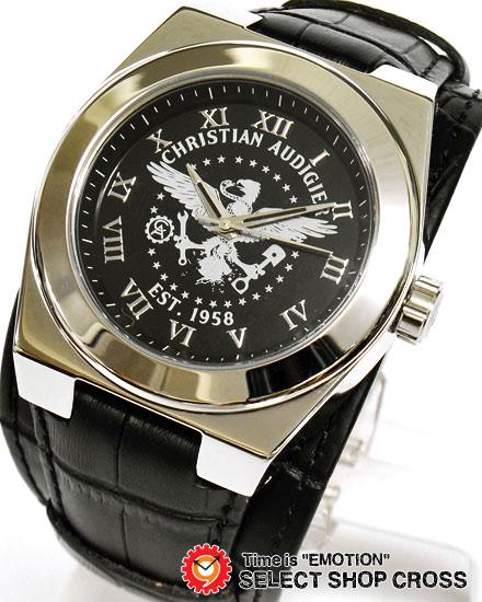 クリスチャンオードジェー twc-108 CHRISTIAN AUDIGIER TWCシリーズ 腕時計 ブラック 黒 【男性用腕時計 リストウォッチ ランキング ブランド 防水 カラフル】