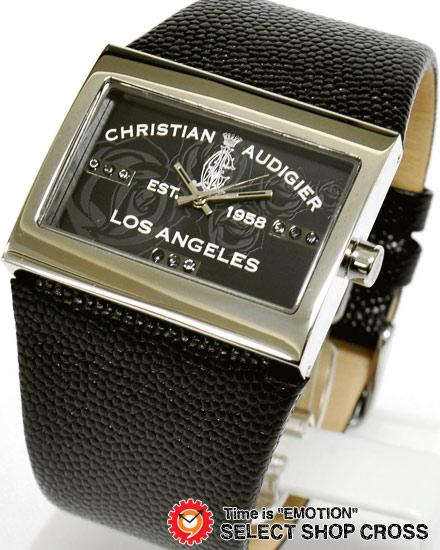 クリスチャンオードジェー twc-511 CHRISTIAN AUDIGIER TWCシリーズ 腕時計 ブラック 黒 【男性用腕時計 リストウォッチ ランキング ブランド 防水 カラフル】