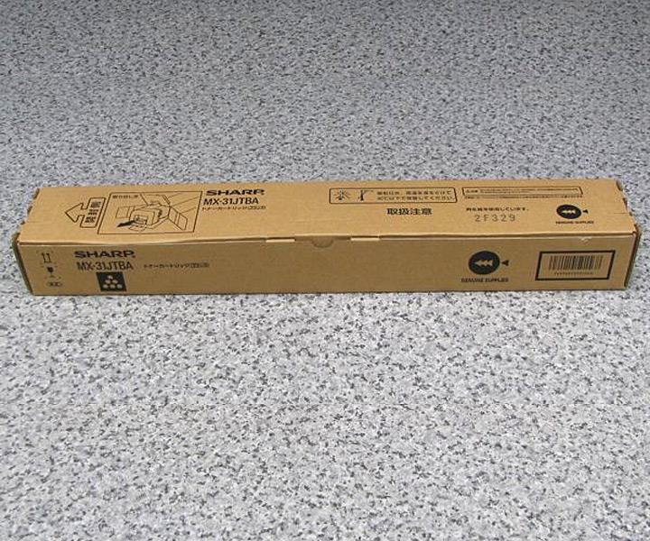 シャープ MX-2301/MX-2600/MX-3100用トナー ブラック MX31JTBA