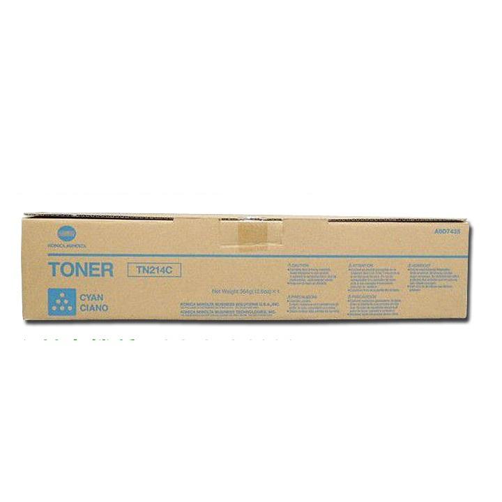コニカミノルタ bizhub C200 海外向 純正トナー TN214C シアン 大容量
