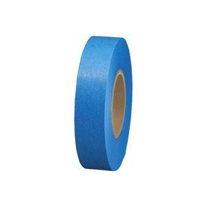 (業務用60セット)ジョインテックス 紙テープ5巻入 青 B322J-BL