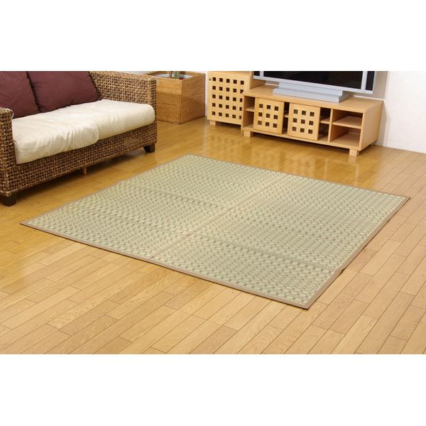 純国産/日本製 掛川織 い草カーペット 『奥丹後』 本間6畳(約286×382cm)