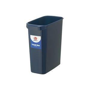 (業務用4セット)ジョインテックス 持ち手付きゴミ箱角型8L ブルー N154J-B5 5個