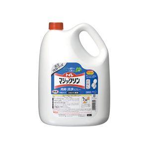(まとめ)トイレマジックリン 消臭・洗浄スプレー 業務用 4.5L 4本