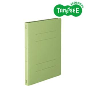 (まとめ)丈夫なフラットファイル バインダー 2穴 <HD> A4-S グリーン 10冊入 20パック